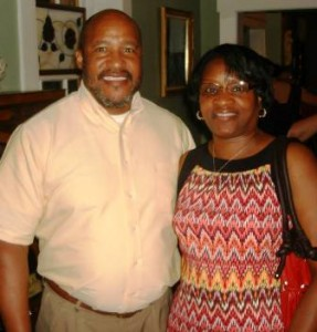 Alderman Anthony Smith and wife Clara of the City of Bellefontaine Neighbors at NCI's Anniversary Fundraiser
